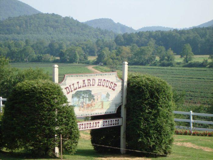 1. The Dillard House—768 Franklin St, Dillard, GA 30537