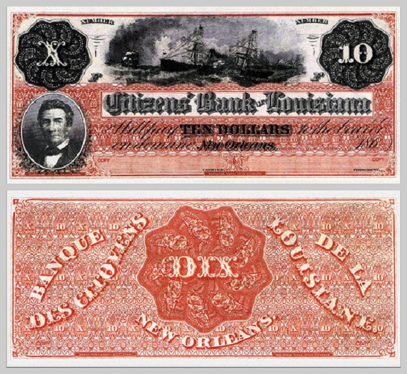 "1) The term ""Dixieland"" was developed from the name of the currency, the ""dix,"" that was Louisiana's currency when states printed their own."