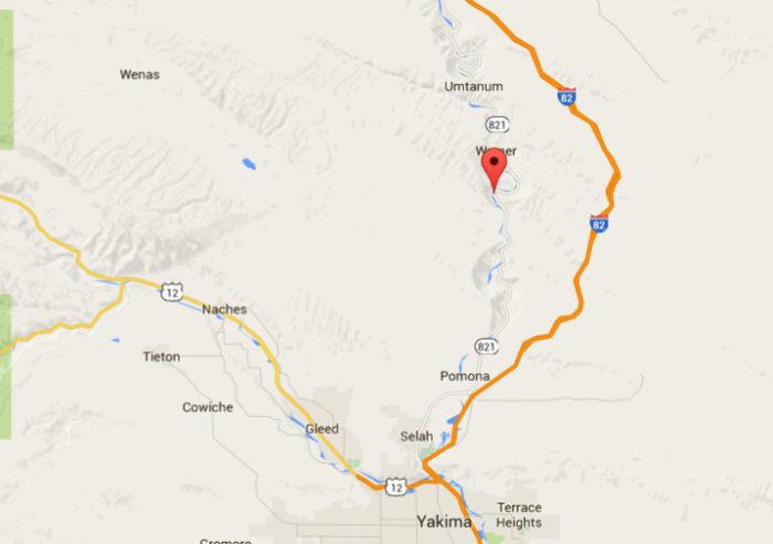 2. Yakima River Canyon Scenic Byway (SR-821)