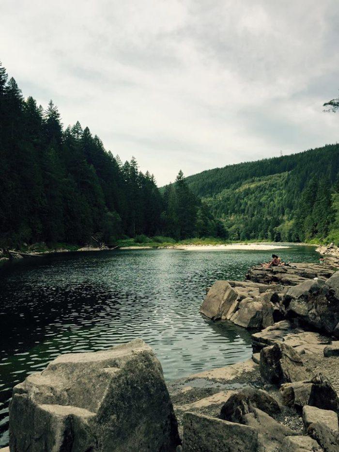 8. Eagle Falls, Snohomish County