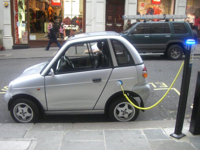3. You drive an electric car.