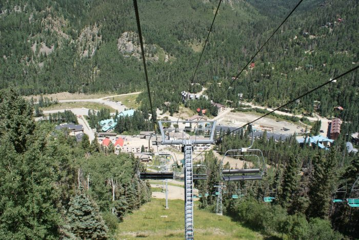 1. Take a ski lift ride and soak in the views.