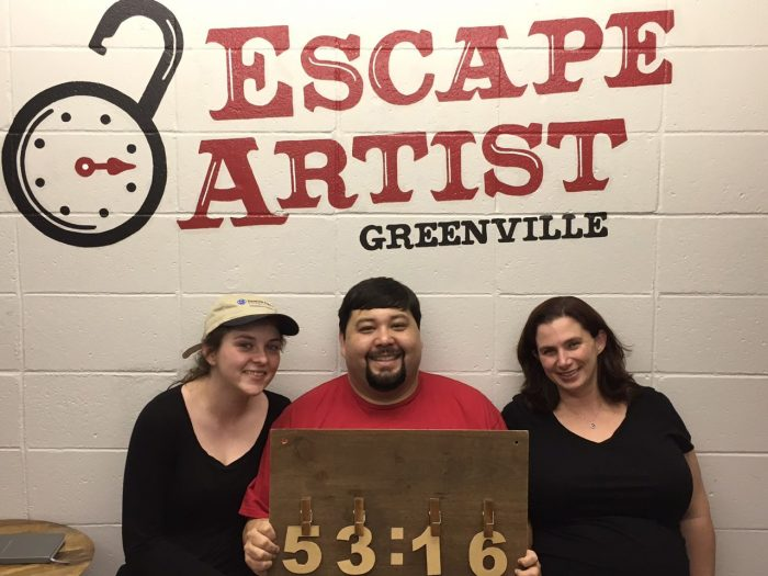 1. Escape Artist Greenville 217 East Stone Avenue, Greenville