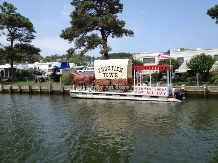 4. Frontier Town Campground