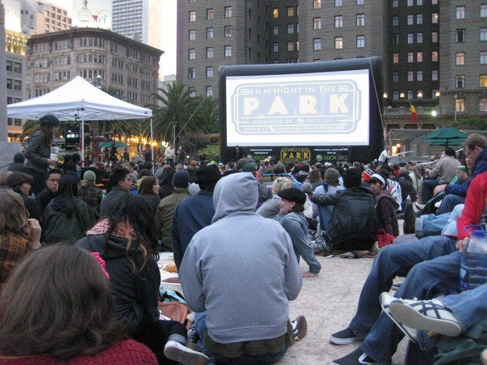 4. Catch a classic flick at Film Night in the Park.