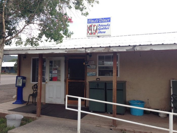 4. Fina's Diner, 2298 Highway 17, Chama