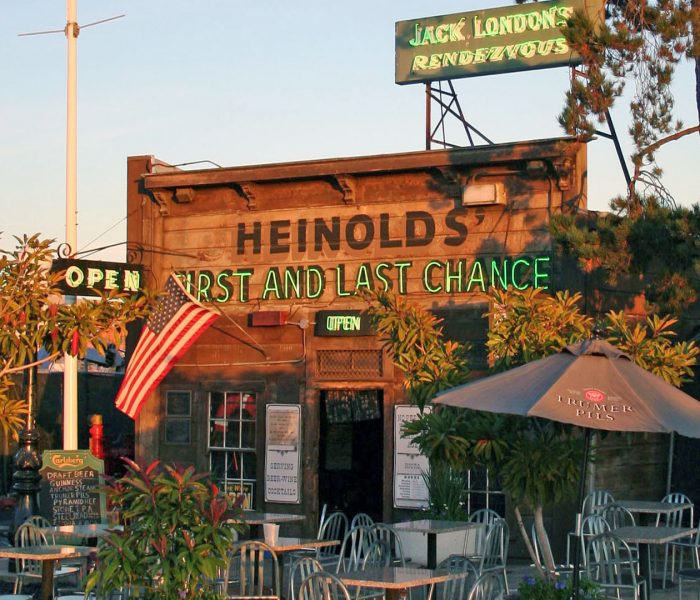 14. Heinold's First and Last Chance Saloon