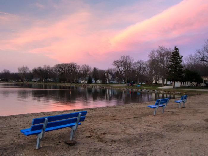 1. Five Island Lake, Emmetsburg
