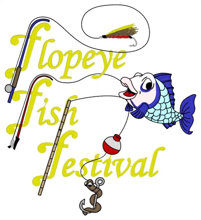 12. Flopeye Fish Festival - Great Falls, SC