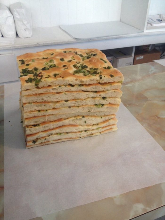 7. Focaccia at Liguria Bakery