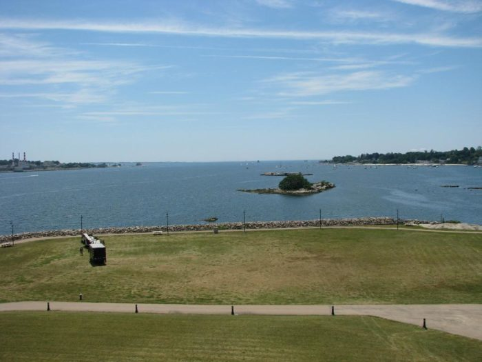 4. Fort Trumbull State Park (New London)