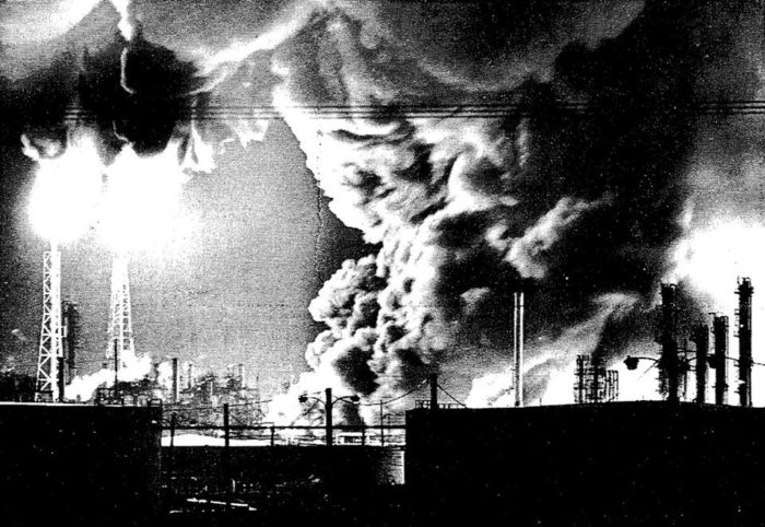 In the middle of the night on May 5th, 1988, an explosion at the Shell Plant in Diamond, LA, killed seven Shell workers, destroyed homes in the community, and allowed for well over 150 million pounds of pollution and waste into the air.