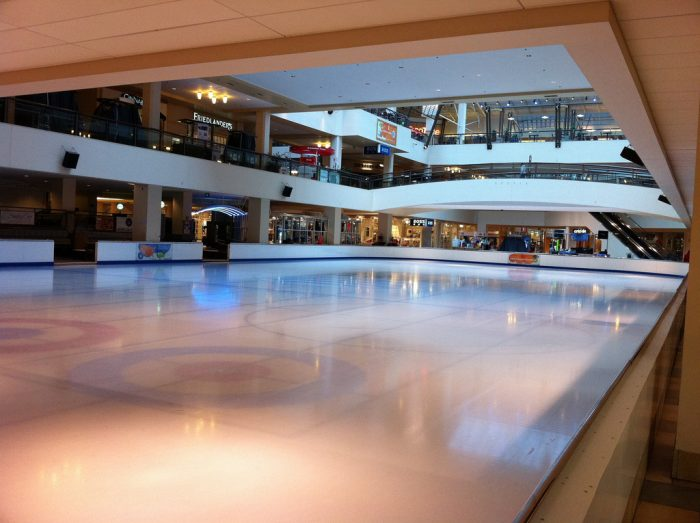 2. Performing a wedding ceremony on an ice skating rink is against the law.