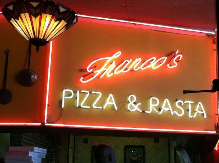 Franco's sign