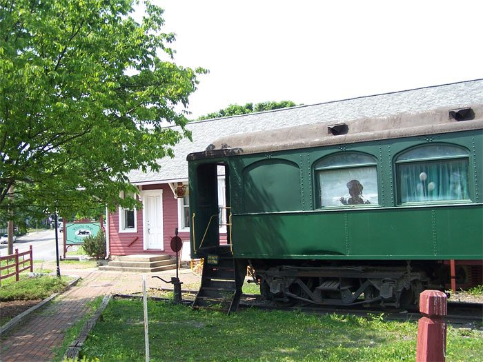 9. The Whistle Stop Restaurant, Centre Hall