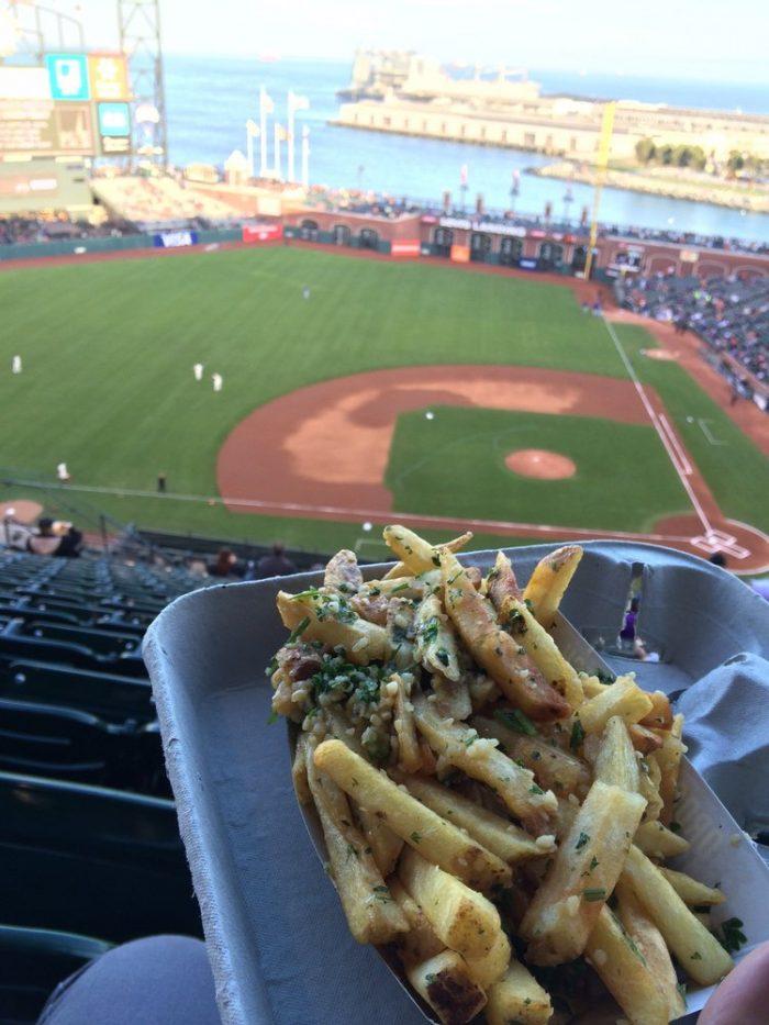9. AT&T Park's Gilroy Garlic Fries