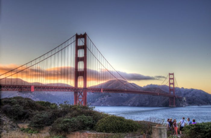 8. Golden Gate Bridge, California