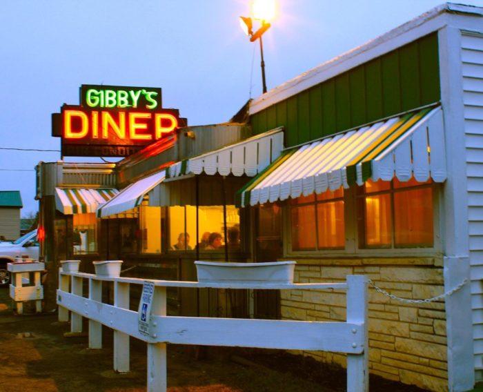 9. Gibby's Diner, Delanson