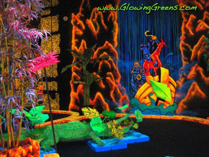9. Glowing Greens