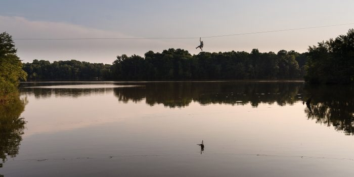 Lums Pond Zip Line