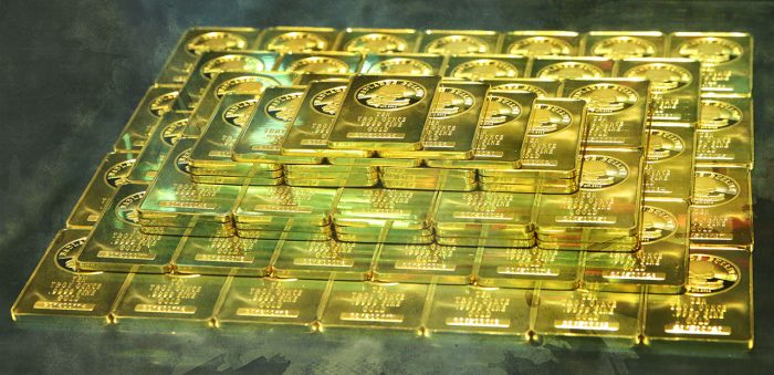 6. See one million dollars worth of gold.