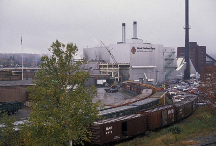 """6. In 2013, the Great Northern Paper Company was saved from closure by the book """"Fifty Shades of Grey."""""""