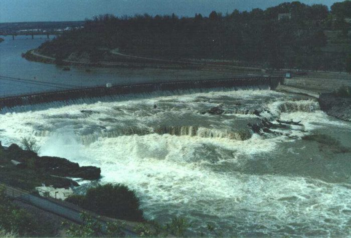 6. Great Falls (or Grand Falls or Big Falls)
