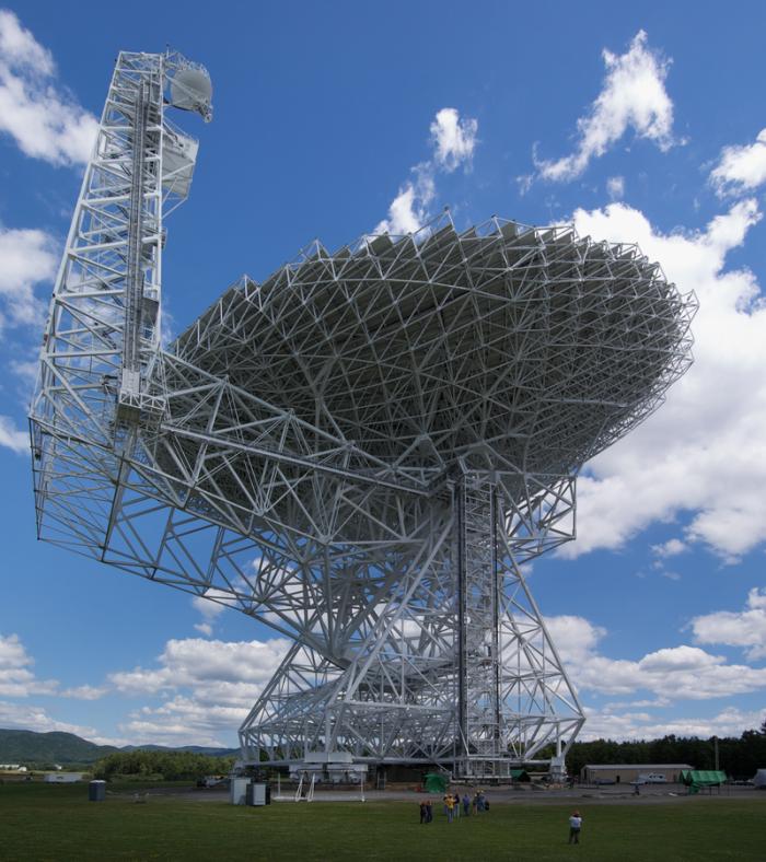 West Virginia: The Greenbank Telescope