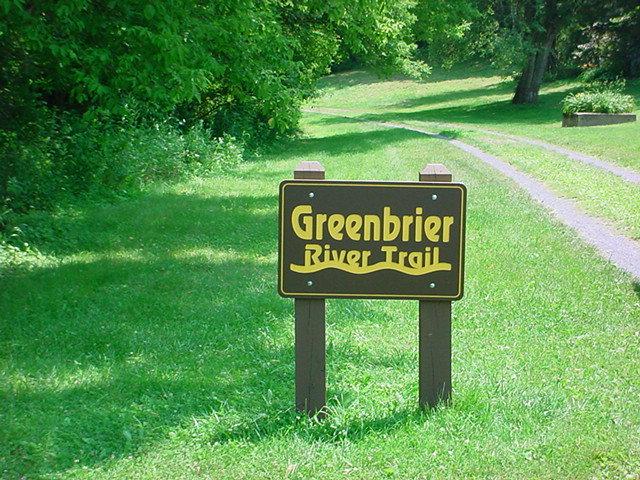 1. Greenbrier Trail near Marlington