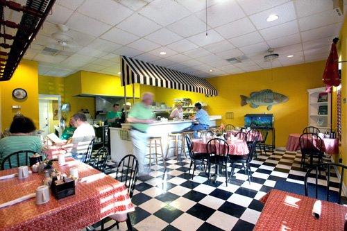 9. Cafe Frederica—110 Sylvan Dr, St. Simons Island, GA 31522