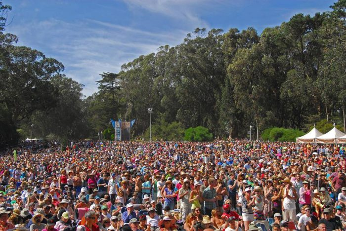 11. BYOB to Golden Gate Park for the annual Hardly Strictly Bluegrass Festival. Sure, it technically happens after the fall equinox, but this is San Francisco's true summer.