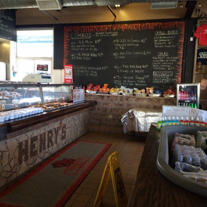 5. Henry's Barbecue, 811 W Main Street, Artesia