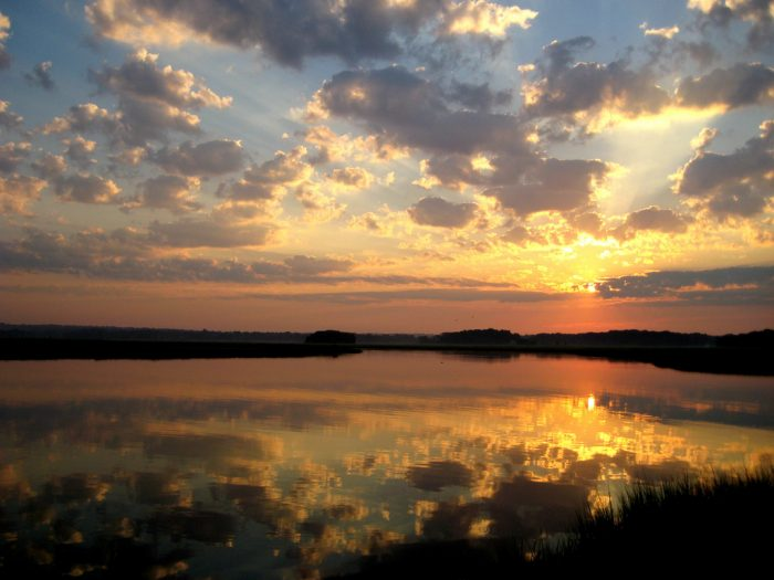 4. This view, captured along the Long Island Sound, is proof that nature's beauty has no limits.