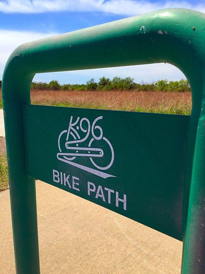 10. Ride The K96 Bike Trail