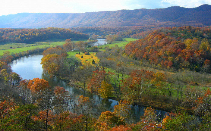 Virginia: Shenandoah River State Park