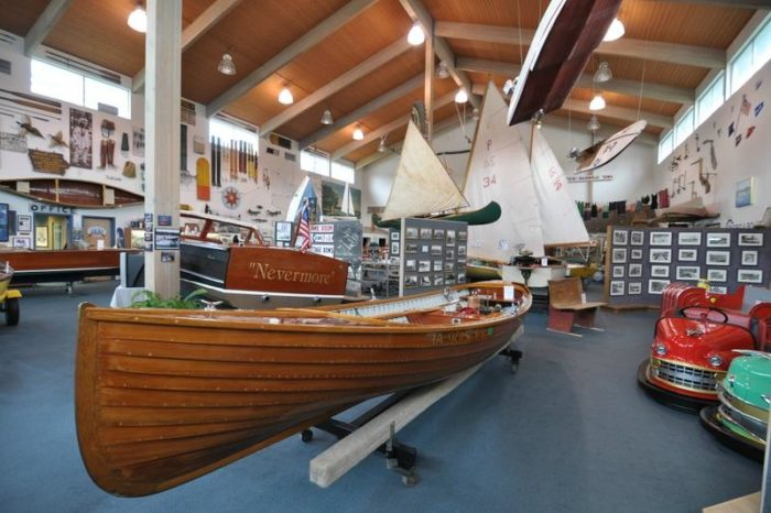 After a bite to eat, head over to the Iowa Great Lakes Maritime Museum to check out all the old artifacts and lore of the Iowa Great Lakes region - including an old ship pulled from the depths of West Okoboji Lake.