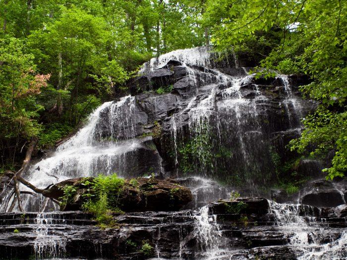 1. Go waterfall gawking at Issaqueena Falls - north of Walhalla, SC on Hwy 28
