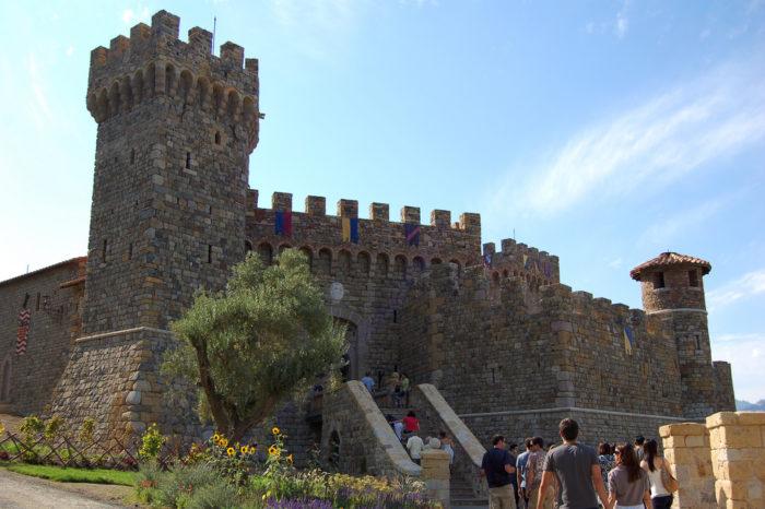 1. Castello di Amorosa, Calistoga