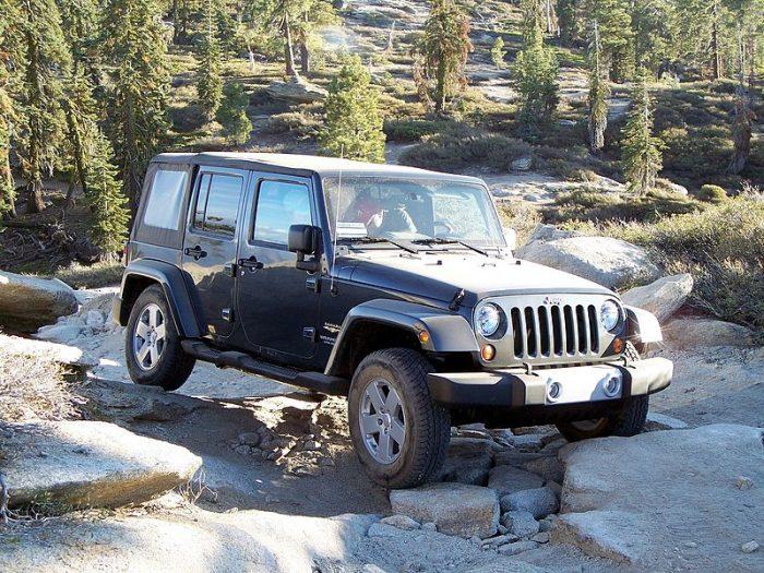 1. Own a 4 wheel drive vehicle