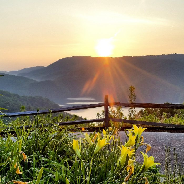 1. Lake Jocassee in the beautiful Upstate