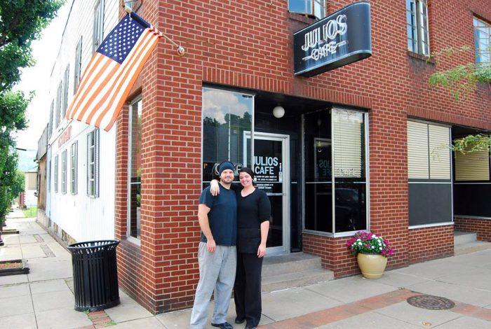 6. Julio's Café, 501 Baltimore Ave, Clarksburg