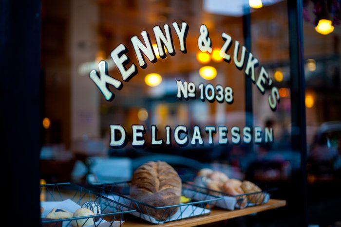 1. Kenny & Zuke's Deliscatessen - Jewish Deli