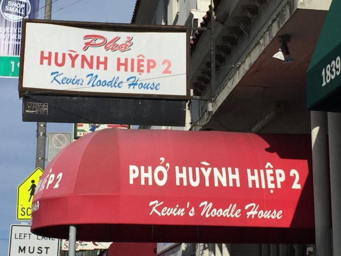 6. Pho Huynh Hiep (Kevin's Noodle House)
