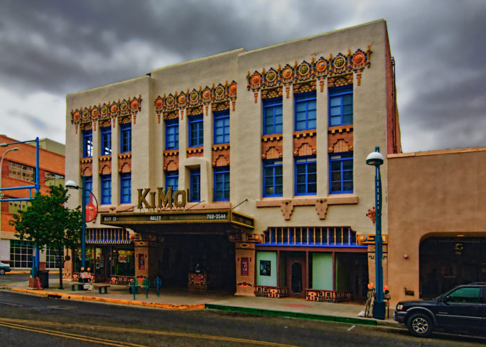 1. KiMo Theatre, 421 Central Ave NW, Albuquerque, NM 87102