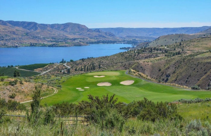 The next day:Go for a round of golf at Bear Mountain Ranch Golf Resort.