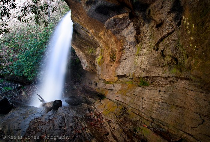 2. Waterfalls like this one at Lake Jocassee