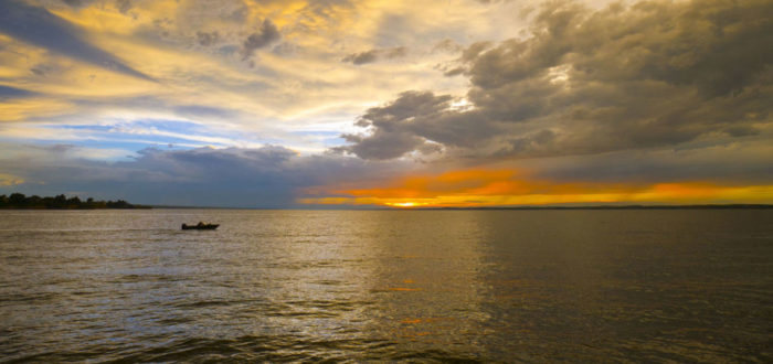 11. Lake McConaughy is one of Nebraska's top attractions and its largest lake.