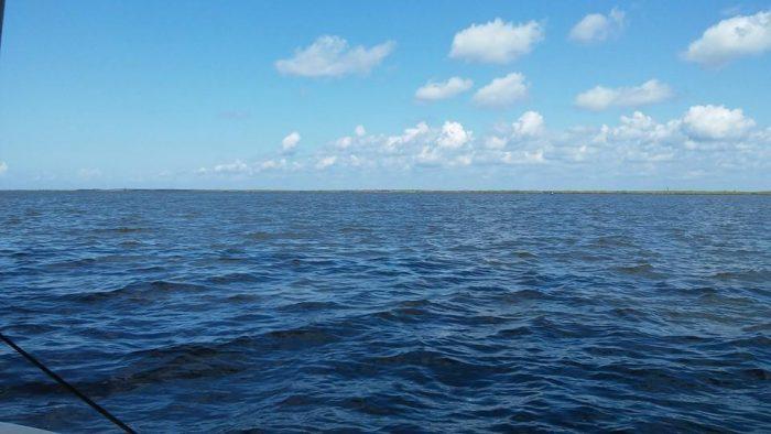 3) Lake Borgne