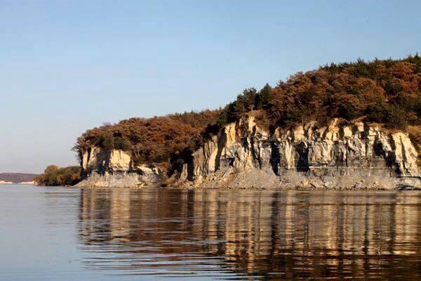 8. Lewis and Clark Lake, near Crofton