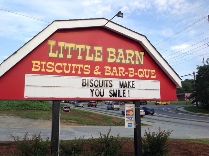 5. Little Barn— 60 E Pike St, Lawrenceville, GA 30045